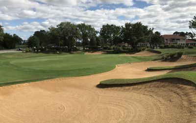 Hole 18 Greenside Bunker